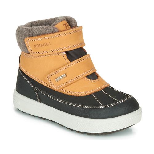 Shoes Boy Mid boots Primigi PEPYS GORE-TEX Honey