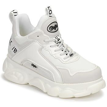 Shoes Women Low top trainers Buffalo CORIN White / Black