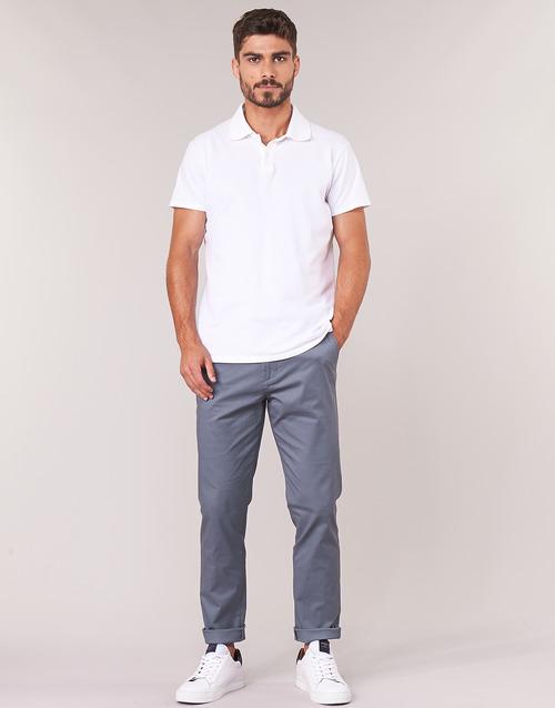 Clothing Men Chinos Selected SLHSLIM Grey