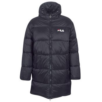 Clothing Women Duffel coats Fila BRONWEN PUFF HOOD JACKET Black