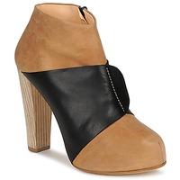 Shoes Women Shoe boots Terhi Polkki EINY Beige / Black