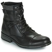 Shoes Men Mid boots Casual Attitude RIVIGH Black