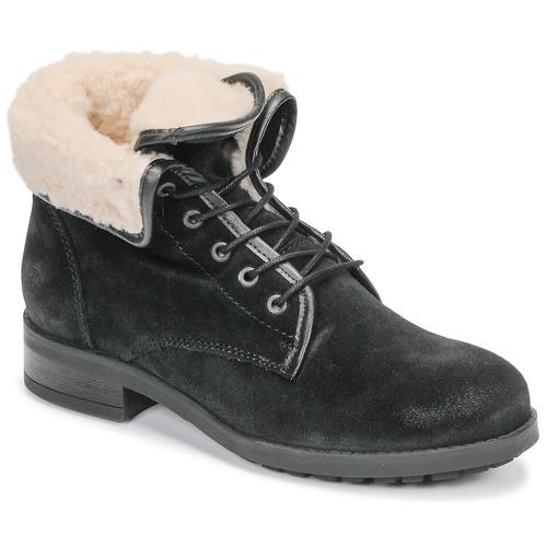 Shoes Women Mid boots Casual Attitude LEILA Black