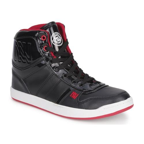 Shoes Women Hi top trainers Dorotennis BASKET CUIR NAPPA PU VERN Black
