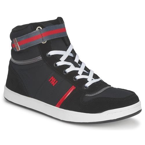 Shoes Women Hi top trainers Dorotennis BASKET NYLON ATTACHE Black