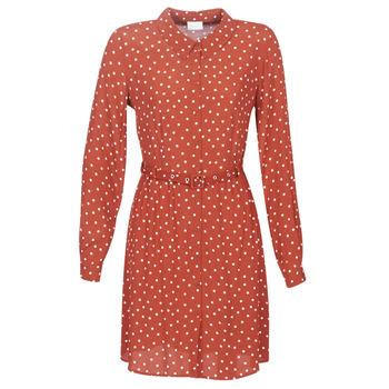 Clothing Women Short Dresses Vila VISULOLA Red