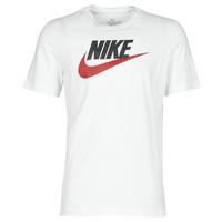 Clothing Men Short-sleeved t-shirts Nike M NSW TEE ICON FUTURA White
