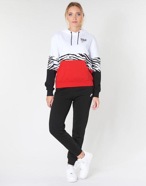 Clothing Women Tracksuit bottoms Nike W NSW ESSNTL PANT REG FLC Black