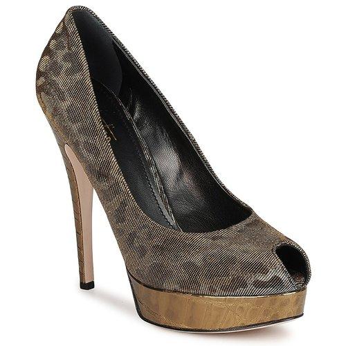 Shoes Women Heels Sebastian TESS Grey / Gold