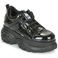 Shoes Women Low top trainers Buffalo 1339 Black / Varnish