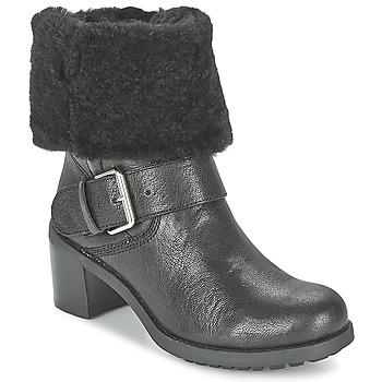 Shoes Women Mid boots Clarks PILICO PLACE  BLACK