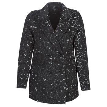 Clothing Women coats Vero Moda VMCOCOLEOPARD Grey
