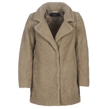 Clothing Women coats Vero Moda VMZAPPA Beige