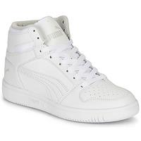 Shoes Children Hi top trainers Puma REBOUND LAYUP B White