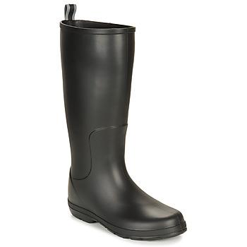 Shoes Men Wellington boots Isotoner 96523 Black