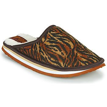 Shoes Women Slippers Cool shoe HOME WOMEN Brown / Leopard