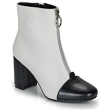 Shoes Women Ankle boots André LAOSA White