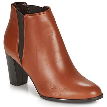 Shoes Women Mid boots André ELONA Cognac