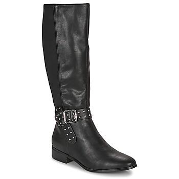 Shoes Women High boots André NOLLAN Black