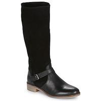 Shoes Women High boots André ELIA Black