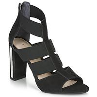 Shoes Women Sandals André LA  DETERMINEE Black