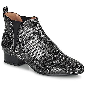Shoes Women Mid boots André VERVEINE Grey
