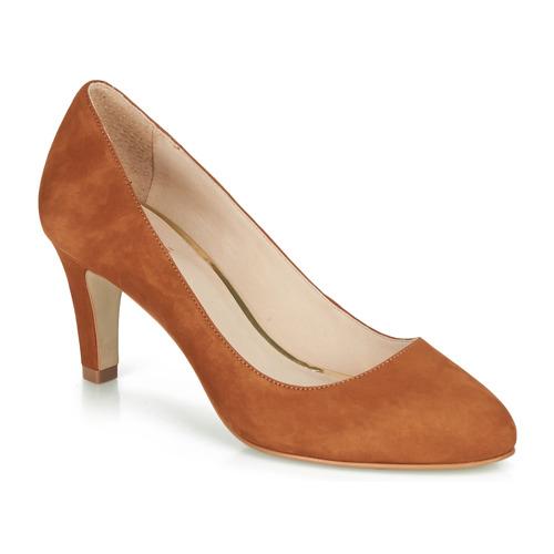 Shoes Women Heels André LINAS Camel