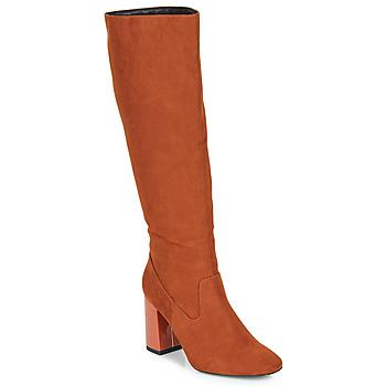 Shoes Women High boots André LUXURY Orange