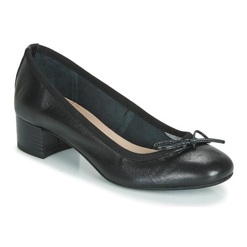 Shoes Women Flat shoes André POEME Black