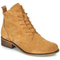 Shoes Women Mid boots André GODILLOT Ocre tan