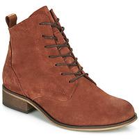 Shoes Women Mid boots André GODILLOT Orange