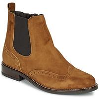 Shoes Women Mid boots André ECLUSINE Camel
