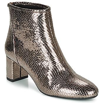 Shoes Women Ankle boots André LEADERSHIP Bronze