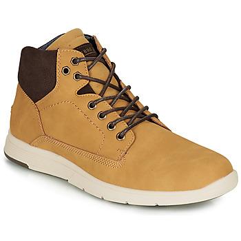 Shoes Men Hi top trainers André AVONDALE Camel