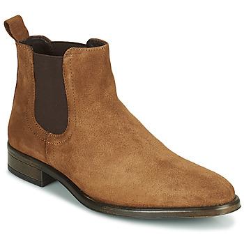 Shoes Men Mid boots André NORLAND 2 Cognac
