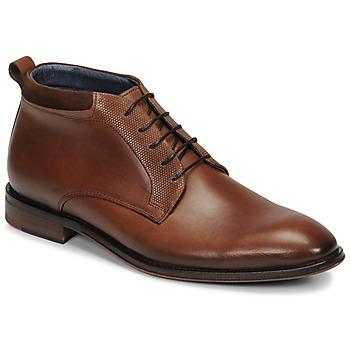 Shoes Men Mid boots André MUBU Brown