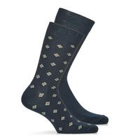 Clothes accessories Men Socks André LOSANGE Marine