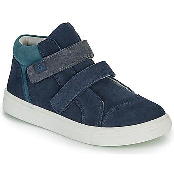 Shoes Boy Hi top trainers André UBUD Marine