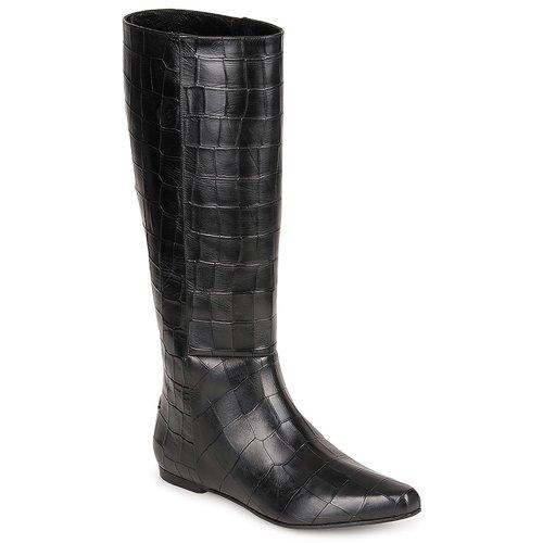 Shoes Women High boots Roberto Cavalli SPS749 Black
