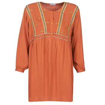 Clothing Women Short Dresses Betty London LOULIA Orange