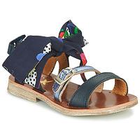 Shoes Girl Sandals Catimini CASALA Blue