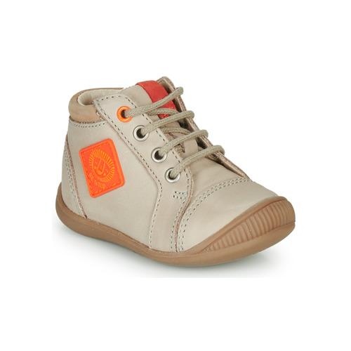 Shoes Boy Hi top trainers GBB TARAVI Beige