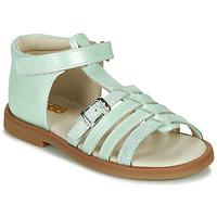 Shoes Girl Sandals GBB ANTIGA Green