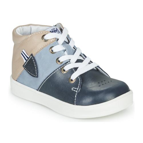 Shoes Boy Hi top trainers GBB AMOS Blue / Grey
