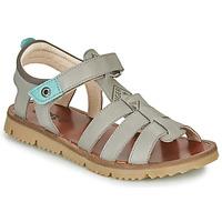 Shoes Boy Sandals GBB PATHE Grey / Blue