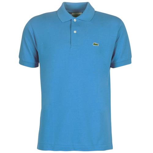 Clothing Men Short-sleeved polo shirts Lacoste POLO L12 12 REGULAR Blue
