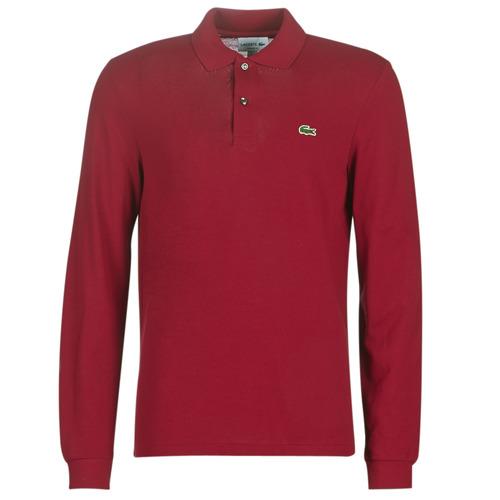 Clothing Men Short-sleeved polo shirts Lacoste L1312 Bordeaux