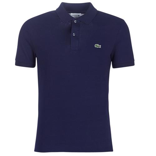 Clothing Men Short-sleeved polo shirts Lacoste PH4012 SLIM Marine