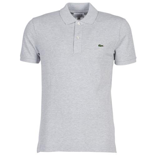 Clothing Men Short-sleeved polo shirts Lacoste PH4012 SLIM Grey