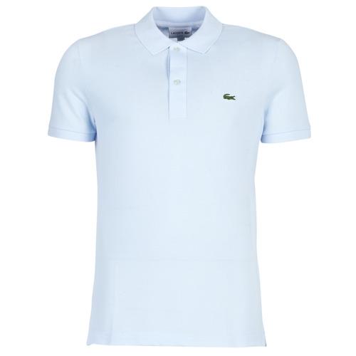 Clothing Men short-sleeved polo shirts Lacoste PH4012 SLIM Blue